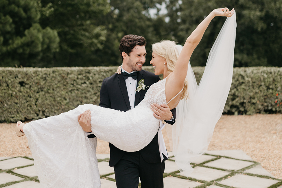 Real Wedding Overview Former Miss America Savvy Shields & Nate Wolfe 127005