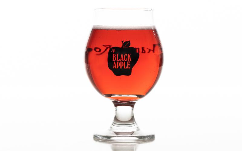 black apple cider