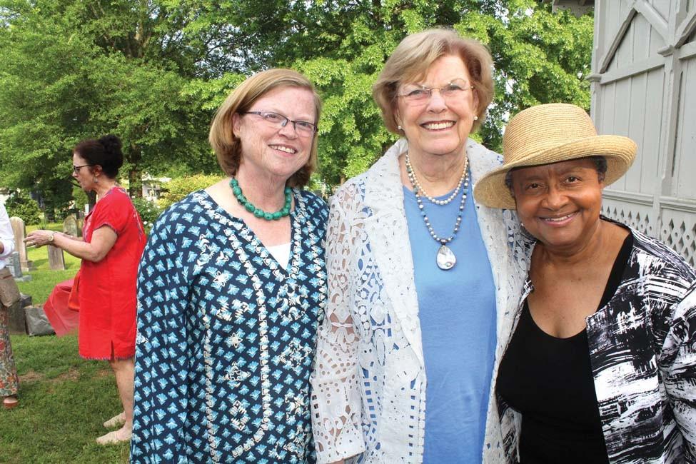 Sarah Hoplins, Jane McMullin, Sybil Hampton