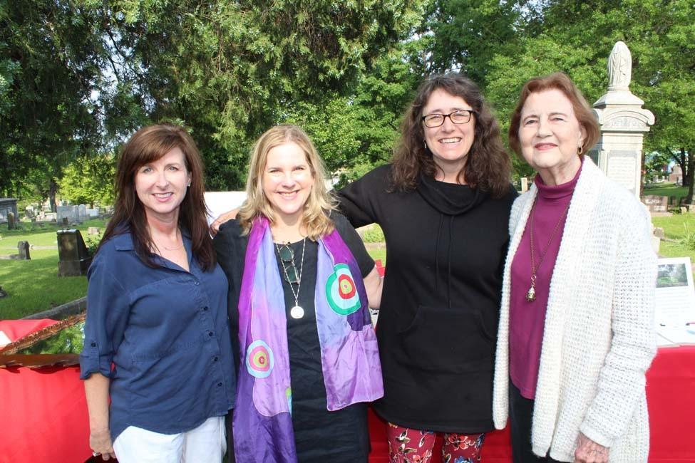 Laurie Lowe, Allison Pickell, Natasha Graf, Elaine Scott