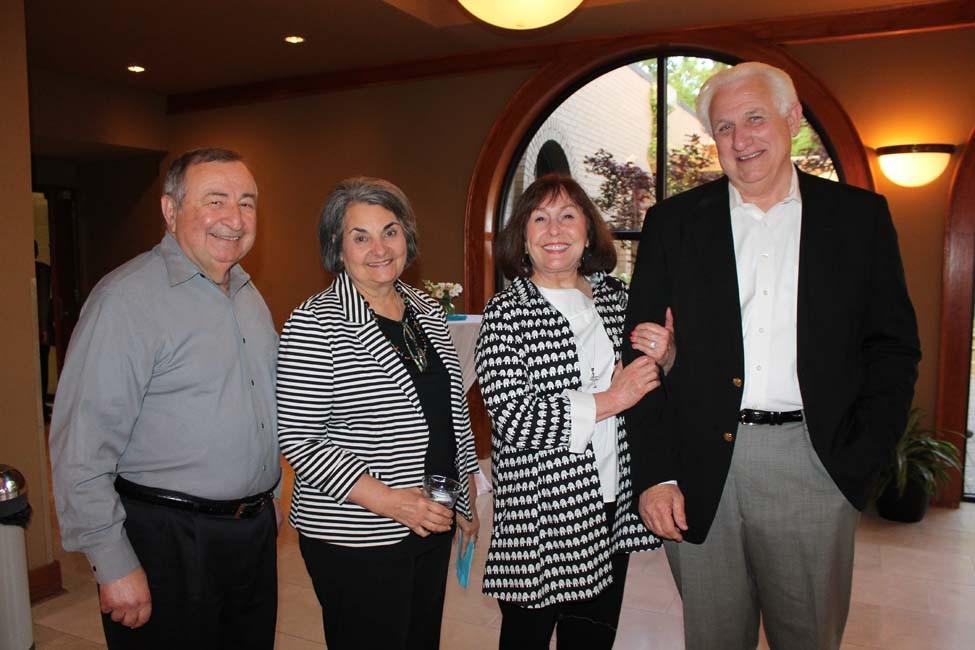 Angelo and Dena Parker, Carole and John Hawkins