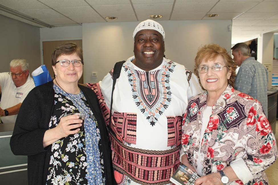 Cathy Burns, Kevin Cole, Colette Williamson