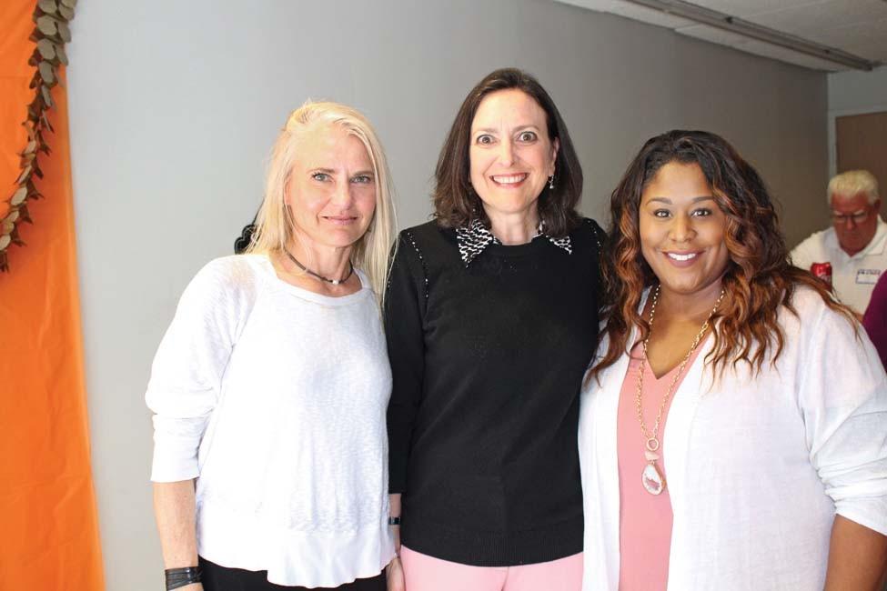 Heather Churan, Kelly Newberg, Adrienne Collins