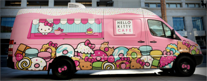 Hello Kitty Cafe Truck is Coming to Little Rock