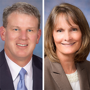 Gray Dillard, Kathy Ryan Named EVPs at Arkansas Blue Cross and Blue Shield