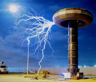 See World's Largest Tesla Coil in Action at Clinton Center