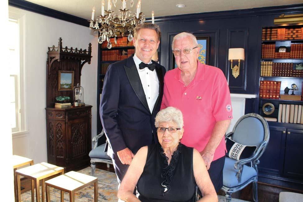 Chris Olsen, Joan Ann and Ralph Olsen