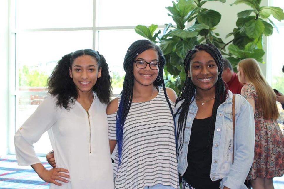 Miosha Hicks, Kaitlyn Mathis, Breanna Walker