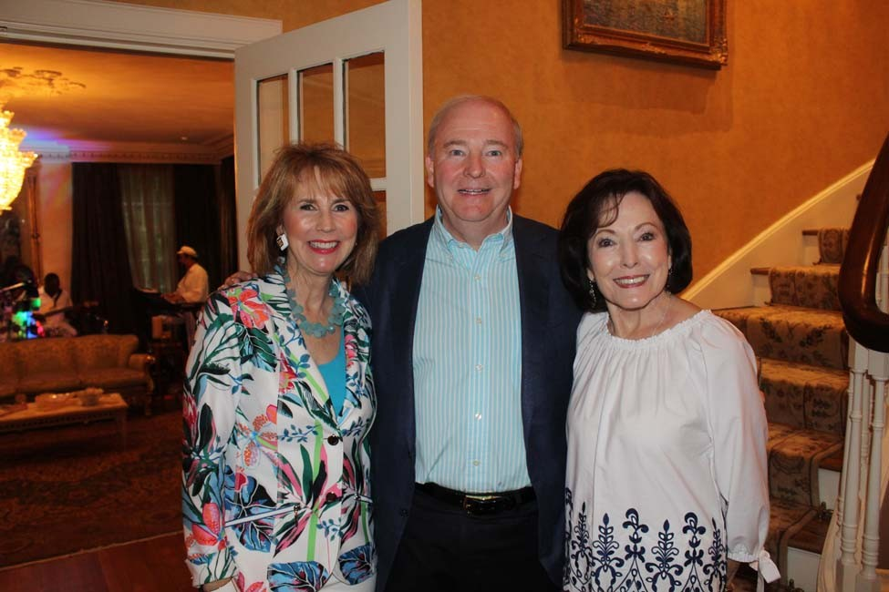 Terri and Chuck Erwin, Gloria Redman