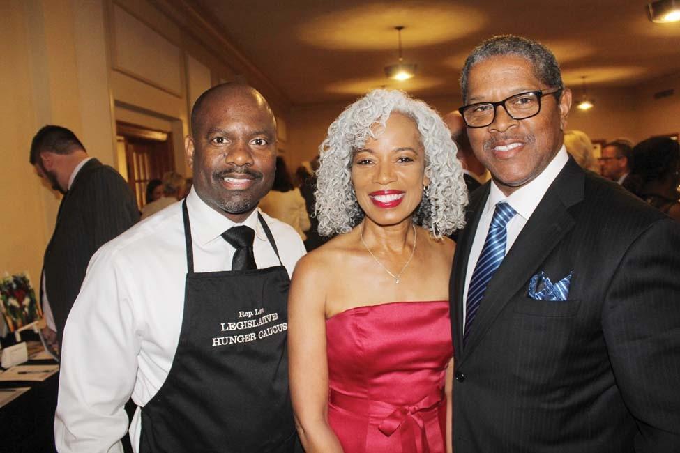 Rep. Fredrick Love, Margaret and Ronnie Dedman