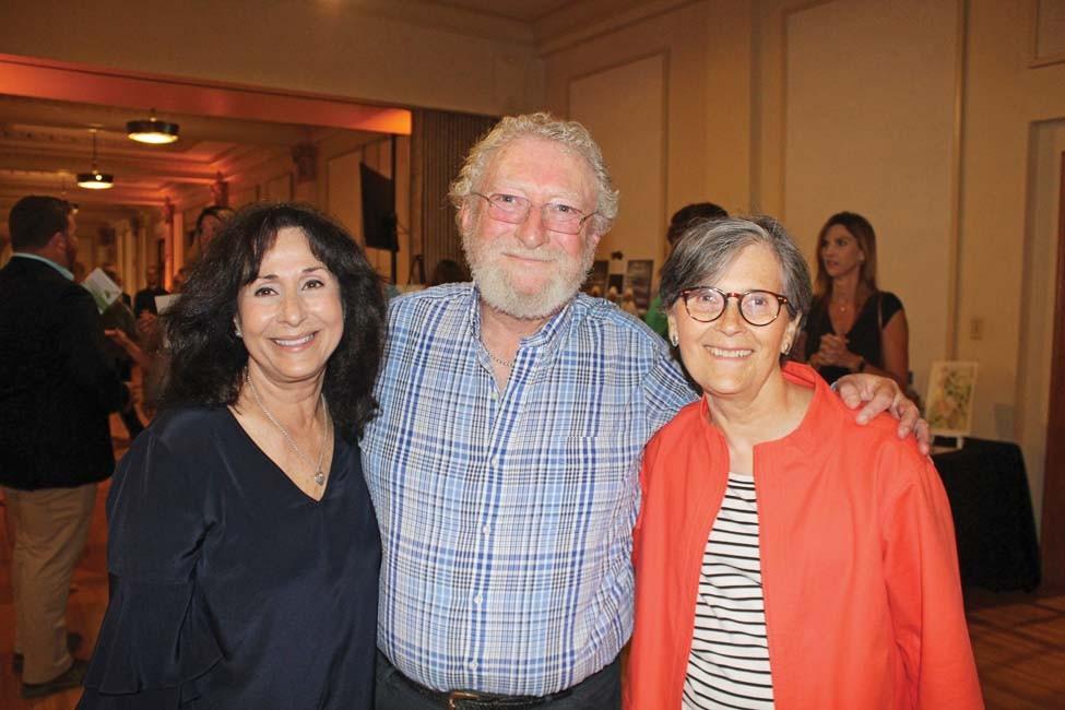Barbara and Barry Orell, Kathy Webb