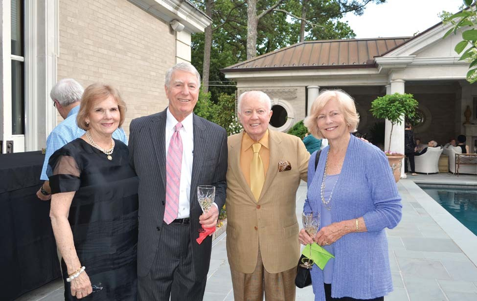 Diane Allen and Renie Bressinck, Dr. Joe Crow, Gert Clark