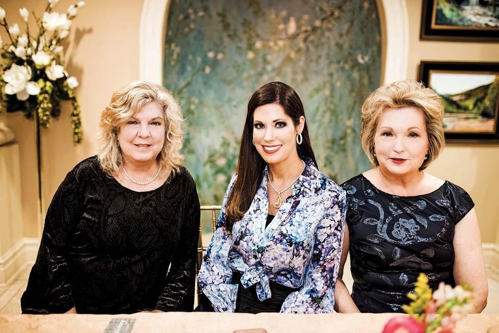 Janet Warlick, Shayla Copas, First Lady Susan Hutchinson