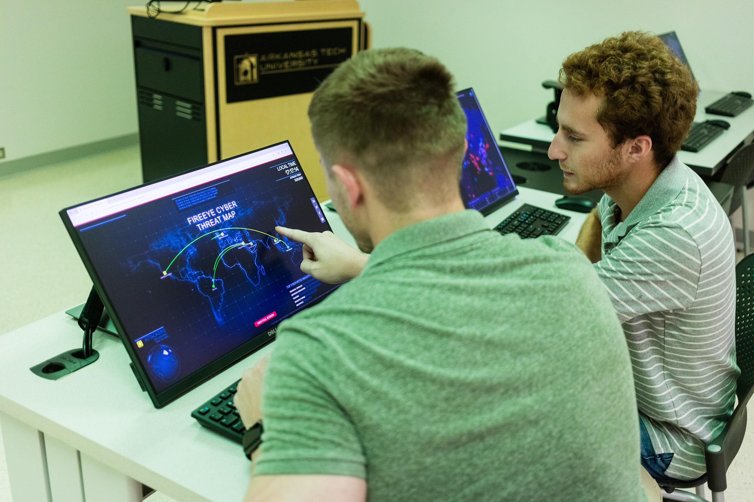 ATU Touts New Cybersecurity Lab