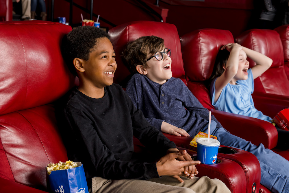 Kids at Movie Tavern by Marus, Movie Theater