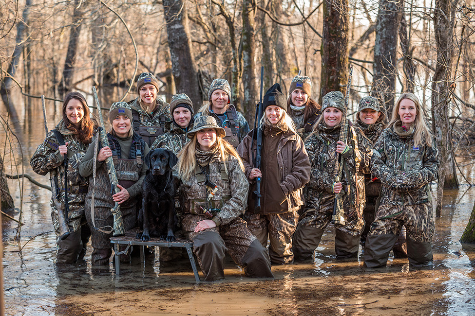 AGFC - Duck Hunting Rising in Females 128097