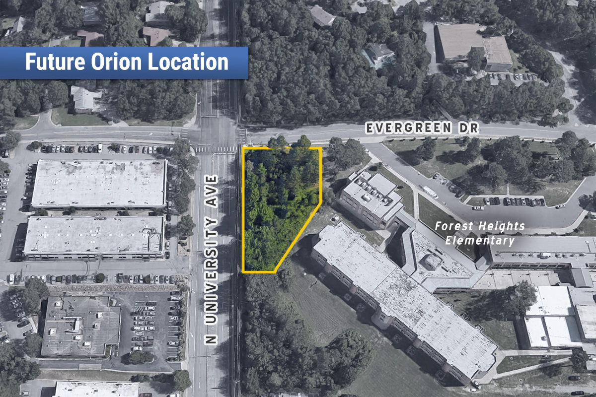 Orion Federal Plans Midown Little Rock Location