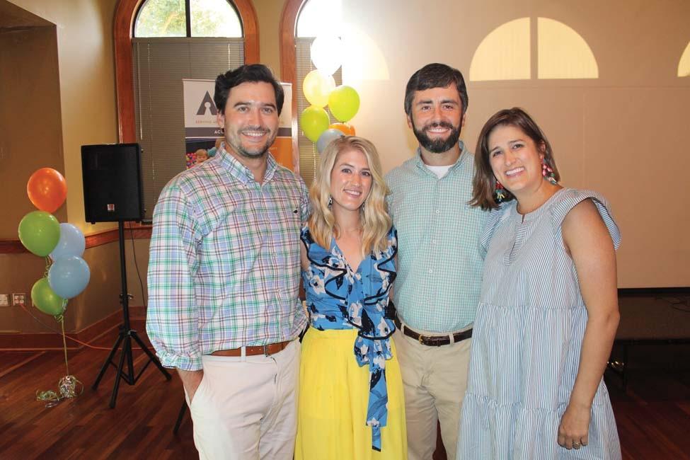 Morgan and Chandler Bailey, David and Callie Gutierrez