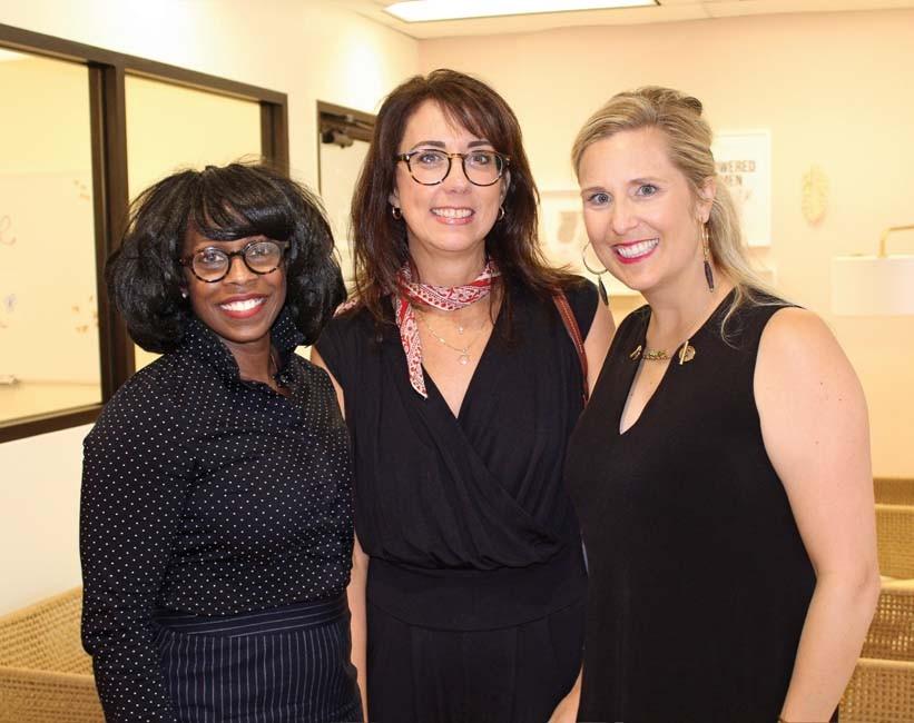 Tjuana Byrd, Suzanne Peyton, Anna Beth Gorman