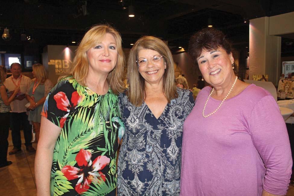 Christal Moore, Brenda Shadid, Susy Oppenheimer
