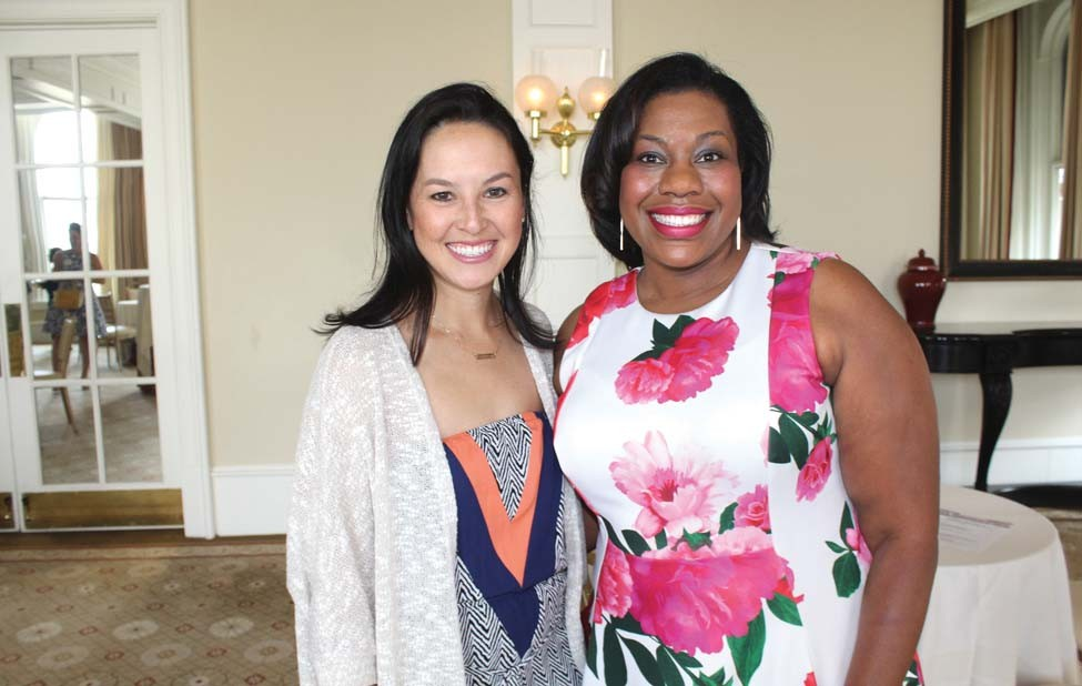 Lauren Hall, Tanya James