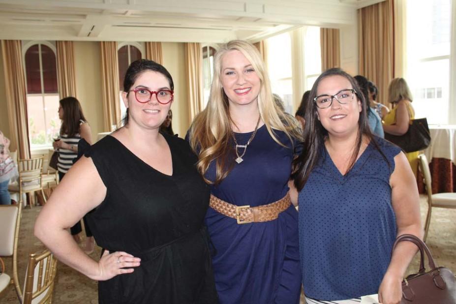 Katelyn Jost, Beth Emmanuel, Christine Doellinger