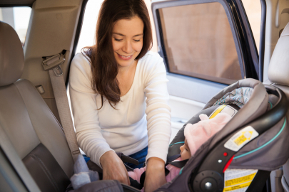 Free Ice Cream & Car Seats Event Checks for Safe Car Seat Installation