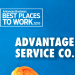 Best Places to Work: Advantage Service Company