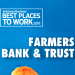 Best Places to Work: Farmers Bank & Trust