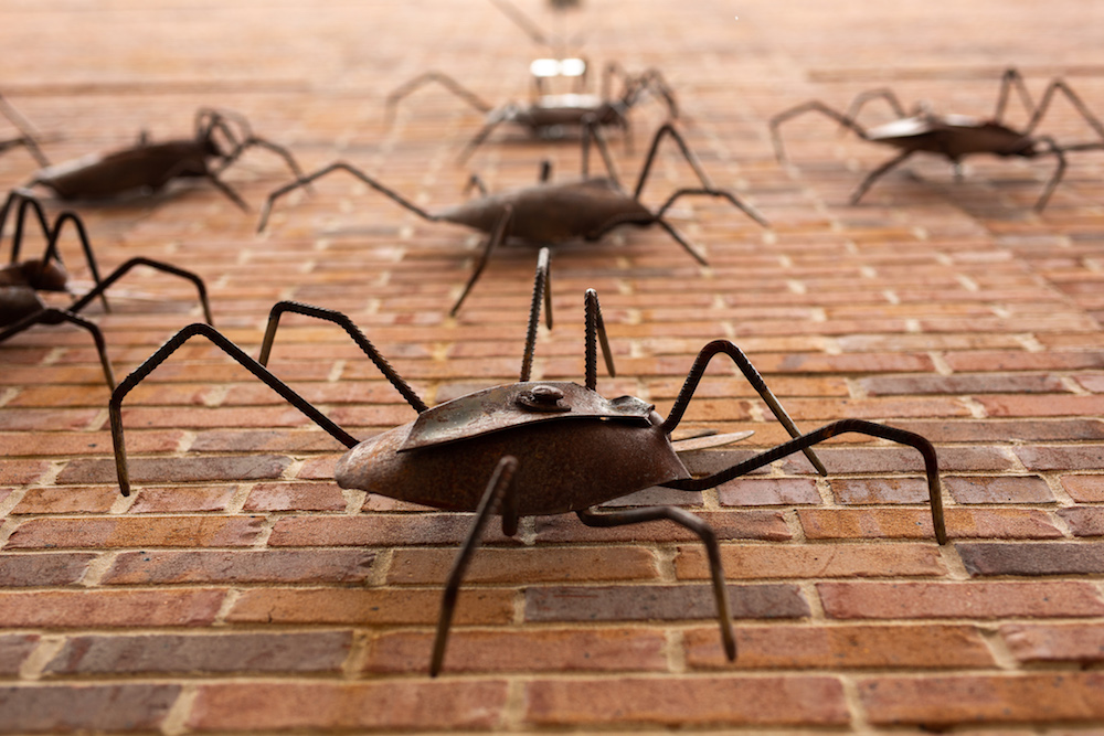 CALS Ron Robinson Theater spider sculptures