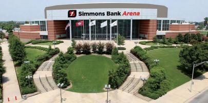 Verizon Arena to Become Simmons Bank Arena on Oct. 3