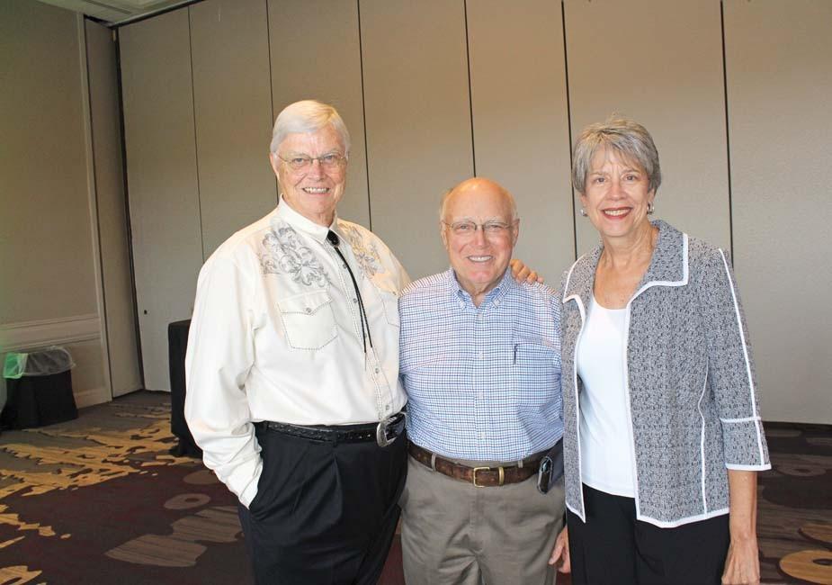 C.R. Magness, Charles Sullivan, Kay Magness