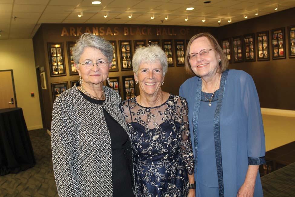 Charline Manning, Janet Nye, Brenda Crites