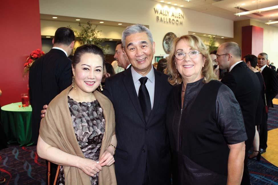 Dr. Fen Xia, Dr. James and Karen Suen