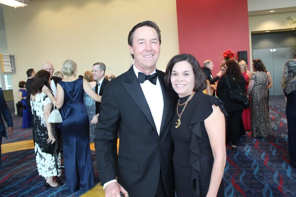 Dr. J. Thaddeus and Melanie Beck
