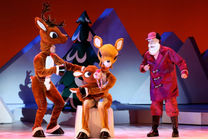 'Rudolph the Red-Nosed Reindeer: The Musical' is Heading to Little Rock