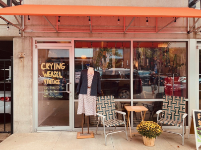 Crying Weasel Vintage Opens Brick-and-Mortar Storefront