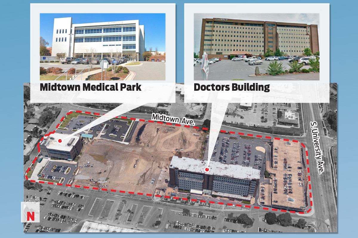 Midtown Medical Buildings Sold for Combined $34.4M