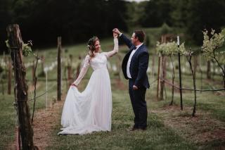 Jennifer + Forrest's Romantically Rustic Wedding at Sassafras Springs Vineyard