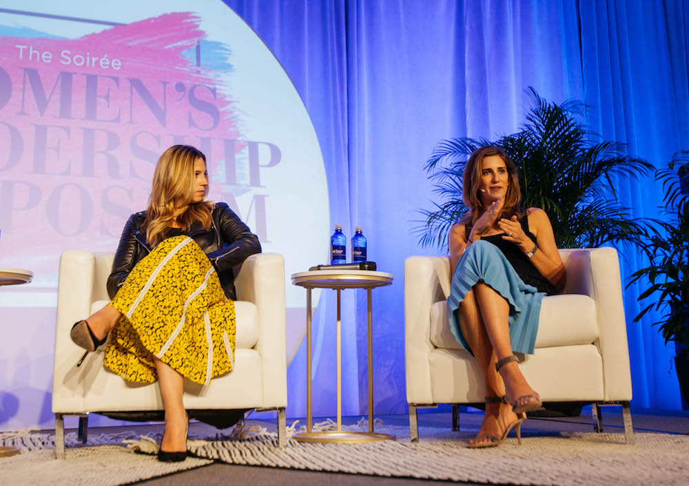 Soiree Women's Leadership Symposium 2019 - theSkimm co-founders Carly Zakin and Danielle Weisberg