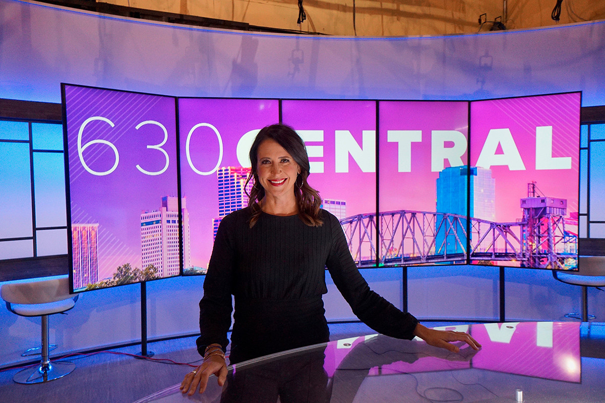 New Set at Channel 11, But Many Familiar Faces