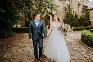 Tiffany + Christoph's Fairy Tale Wedding at Goodwin Manor