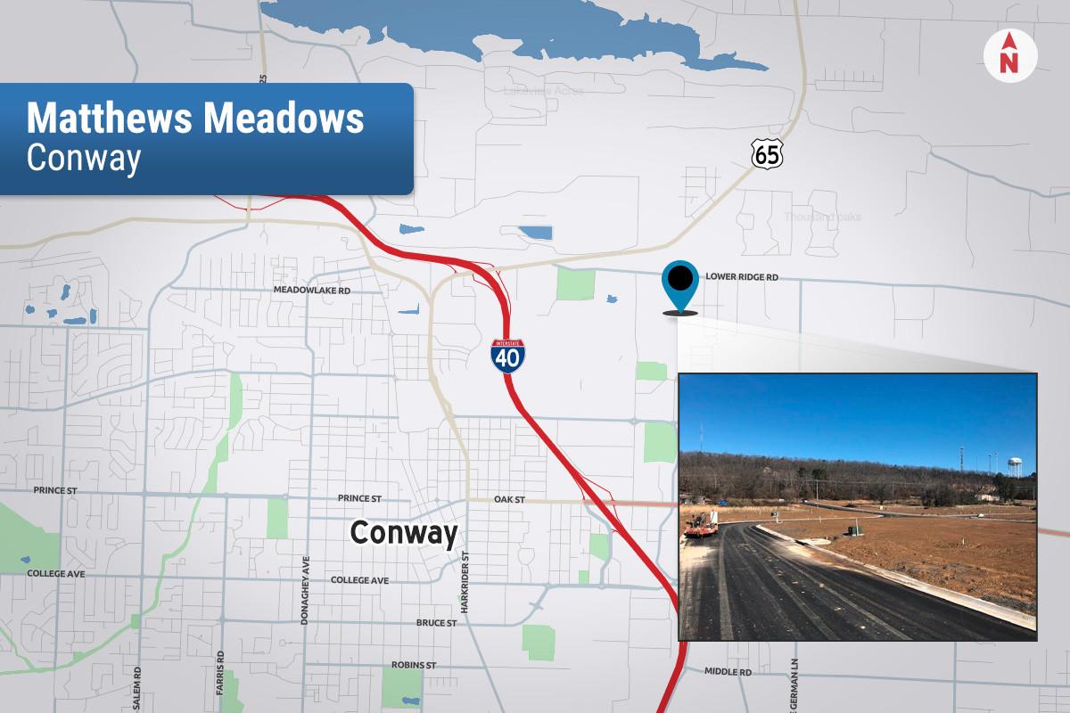 Rausch Coleman Makes Deal in Conway's Matthews Meadows
