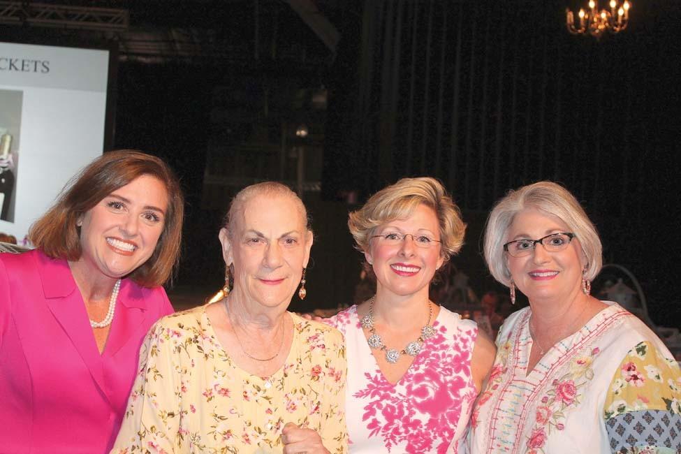 Amy Treadway, Mary Bishop, Dr. Stacy Smith-Foley, Tammy Smith
