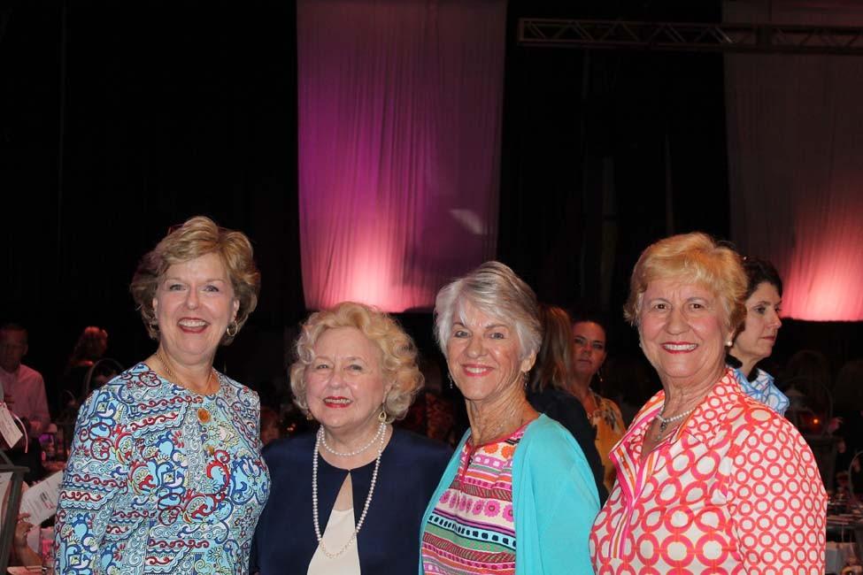 Kathy Rainwater, Sue Trulock, Kathy Churchill, Charlotte Gadberry