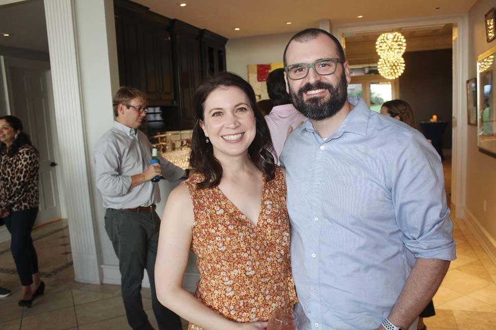 Jennifer and Dr. Jonathan Pagan