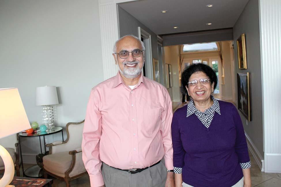 Drs. Bilal and Shamim Malik