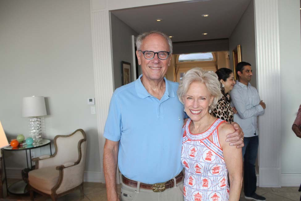 Porter Briggs and Dr. Diane Wilder