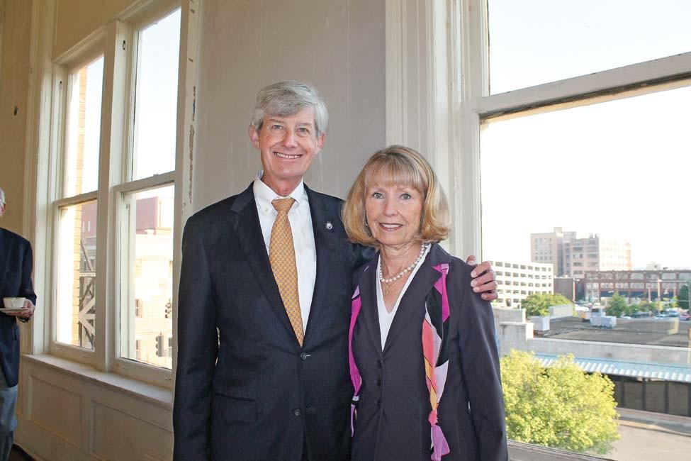 Judges Wayne and Rita Gruber