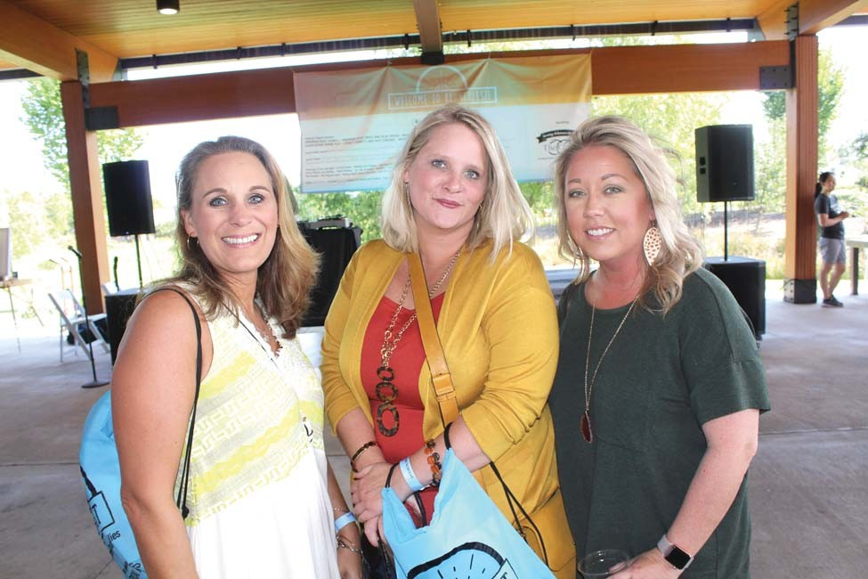 Amanda Galbraith, Kathrine Glasgow, Megan Gardisser